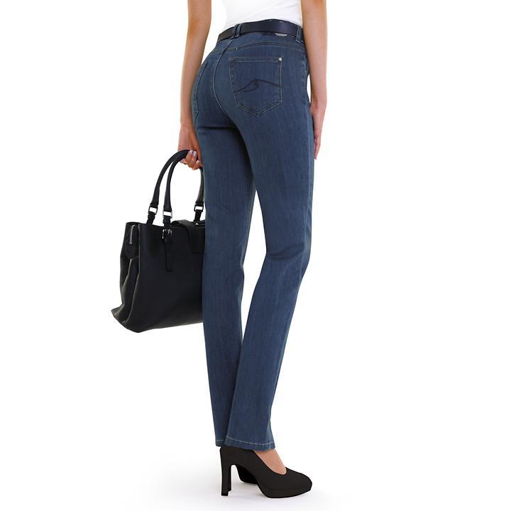 Schlankmacher-Jeans Gracia blau Gr. 36