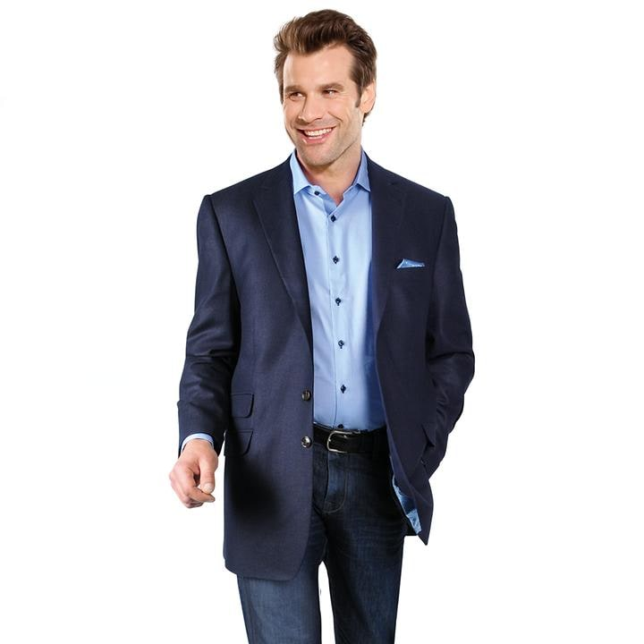 Sakko Carlo, blau