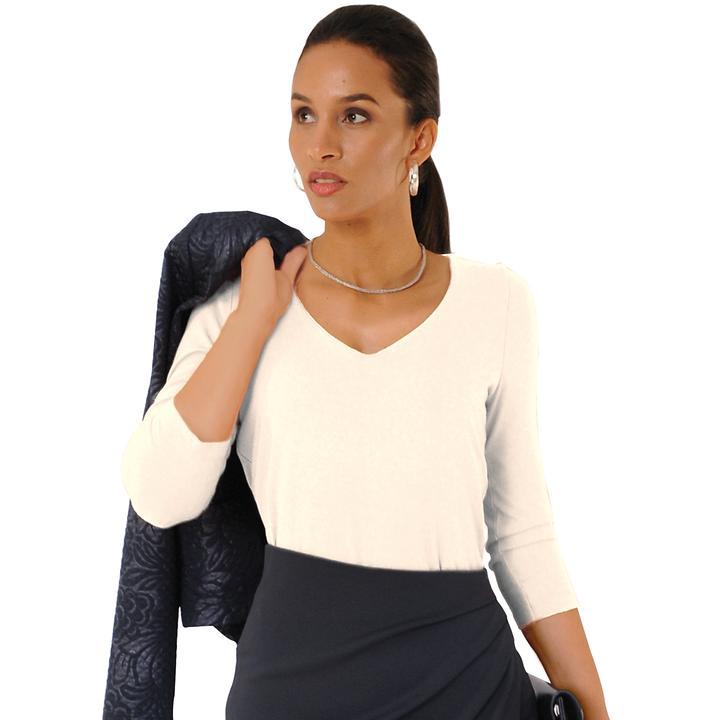 Shirt Marina ecru Gr. 46