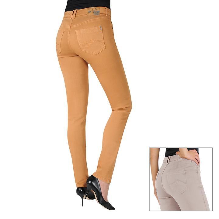 Slimfit-Jeans mit Push-Up Effekt