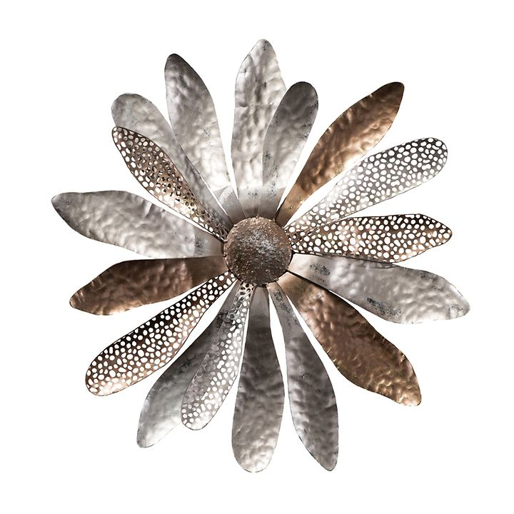 3D-Metallobjekt Blume