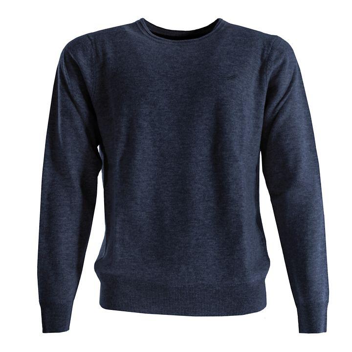Kaschmir-Pullover Daniel Hechter dunkelblau Gr. XL