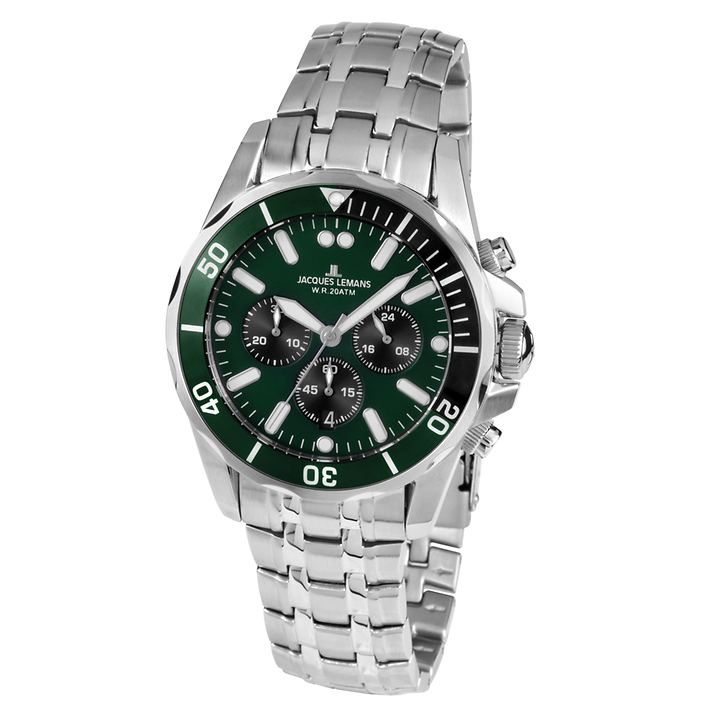 Herren-Chronograph Diver grün