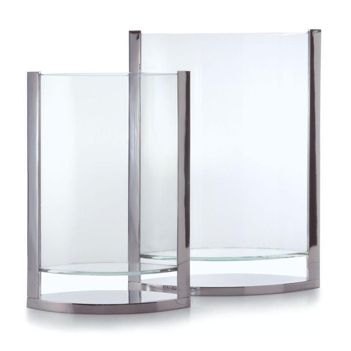 Edelstahl-Vase Decade