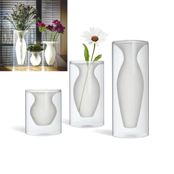 Design-Glasvase Esmeralda