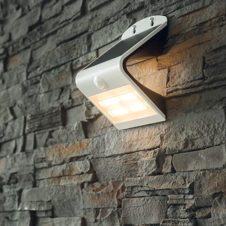 Solar-LED-Wandleuchte Profi