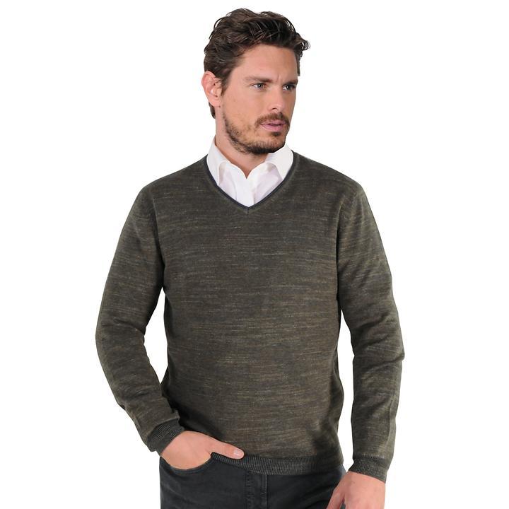 Pullover Maurice oliv Gr. XXL