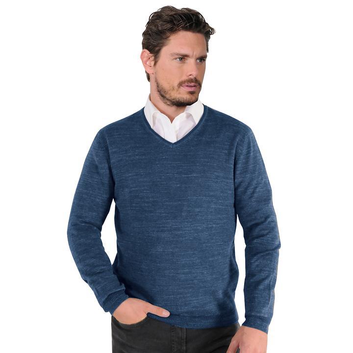 Pullover Maurice blau Gr. 3XL