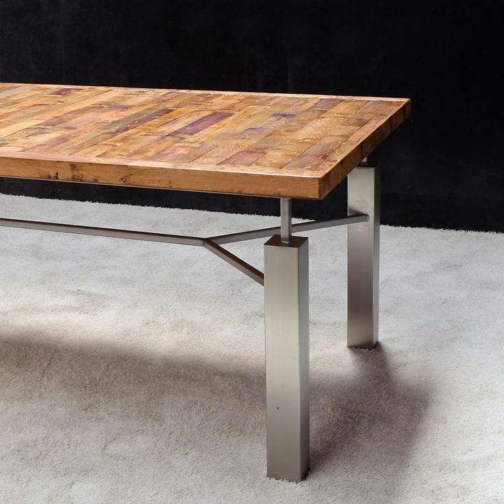 Barriqueholz-Tische  ACINO und ACINI