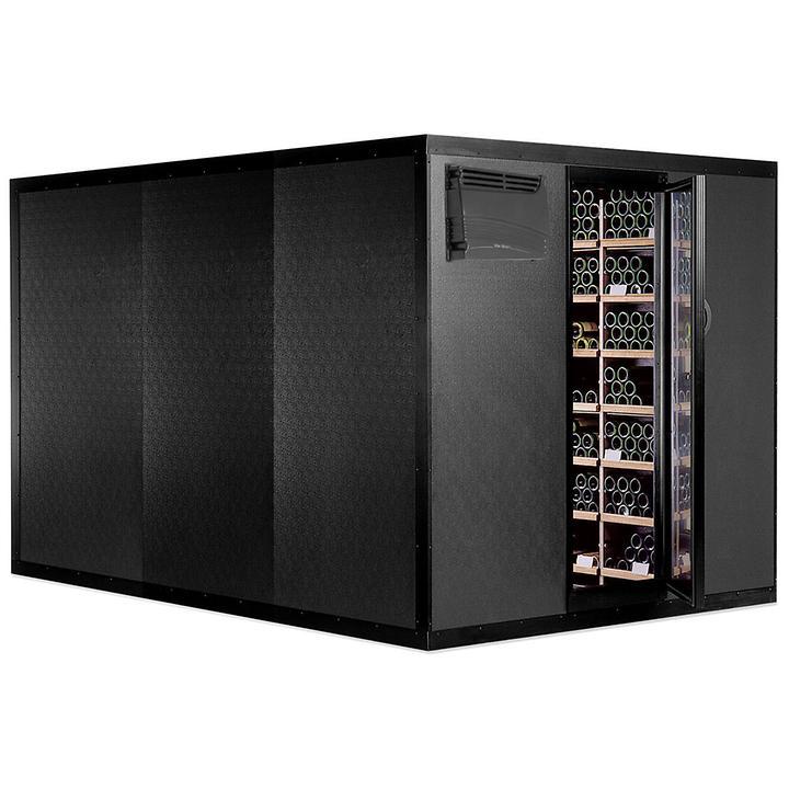 CAVISPACE 2900 Klimaschrank für 2900 Flaschen, schwarz