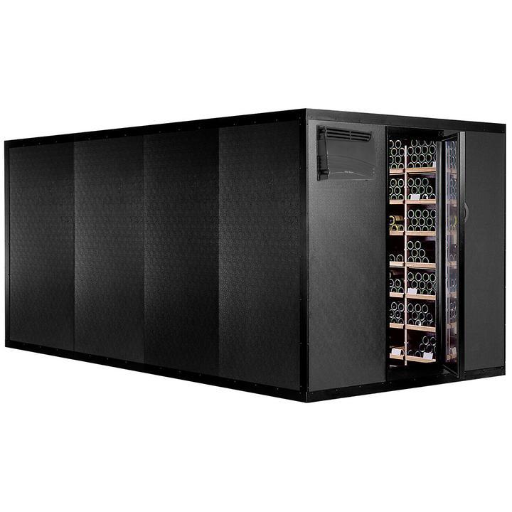 CAVISPACE 3900 Klimaschrank für 3900 Flaschen, Schwarz