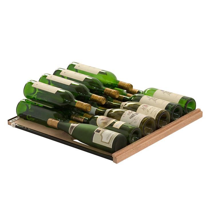 Gleitregal f. Standardflaschen für CAVISPACE Klimaschränke