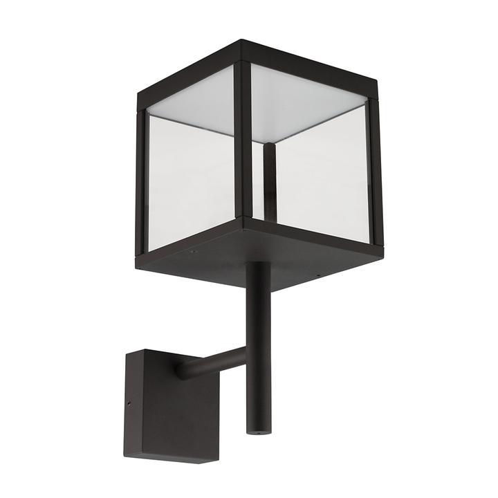 LED-Wandleuchte Ravenna schwarz