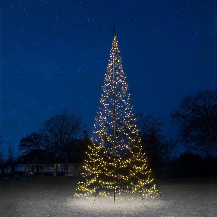 "*All for X-Mas*: LED-Baum ""Fairybell"" mit Mast, schwarz"