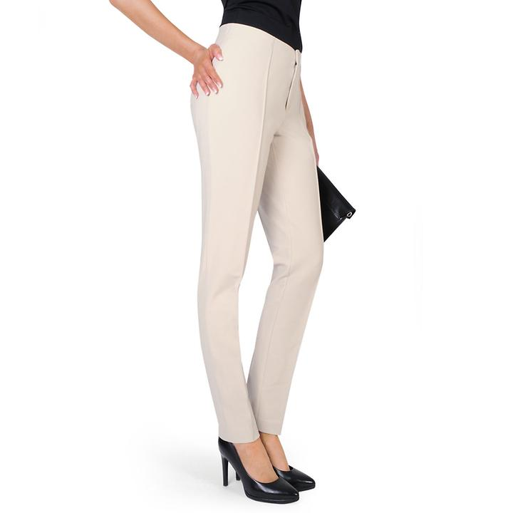 Techno-Stretch-Business-Hose Delia taupe, Gr. 46