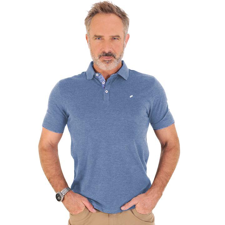 Polo-Shirt Lucas blau Gr. M