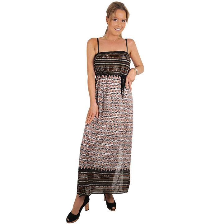 Sommerlich leichtes Kleid aus pflegeleichtem Polyamid