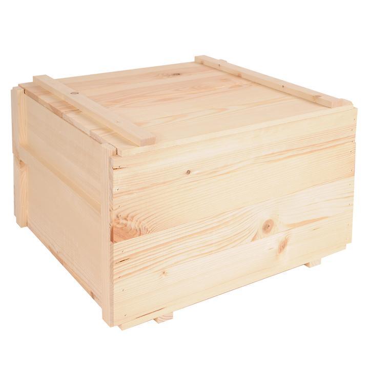 Holzkiste mit losem Deckel SIENA für 12 Flaschen