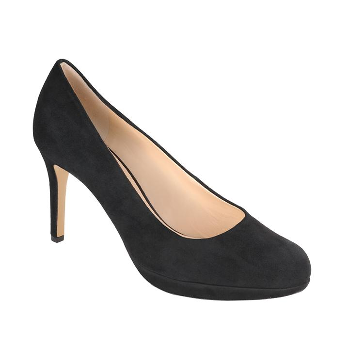 Pumps Maria velours schwarz Gr.37