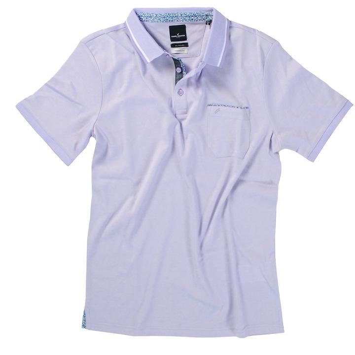 Polo-Shirt Stefan flieder Gr. XXL