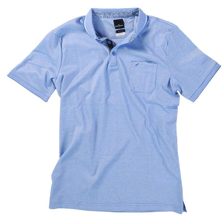 Polo-Shirt Stefan blau Gr. M