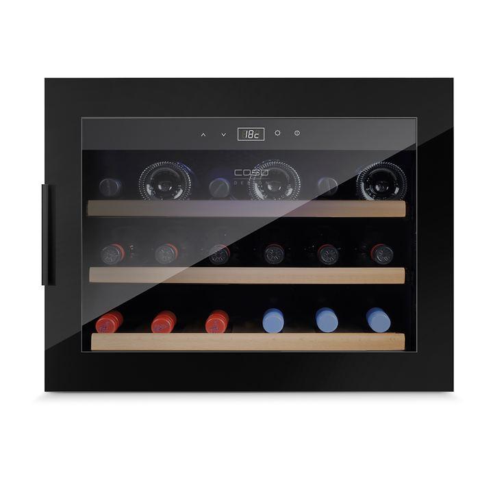 Design Einbaukühlschrank WINESAFE 18 BLACK
