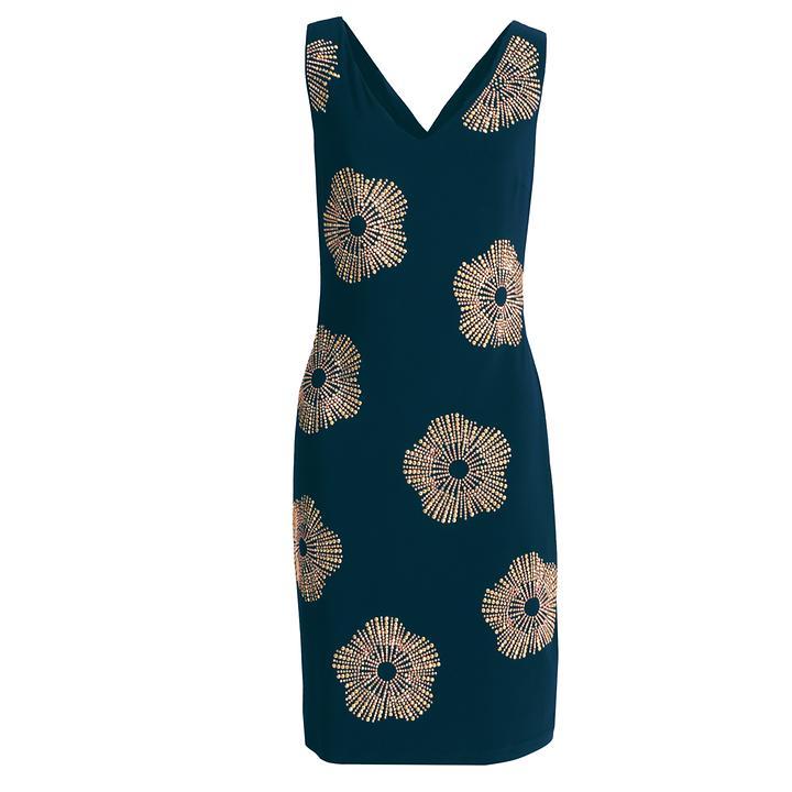 Kleid Star dunkelblau Gr. 46