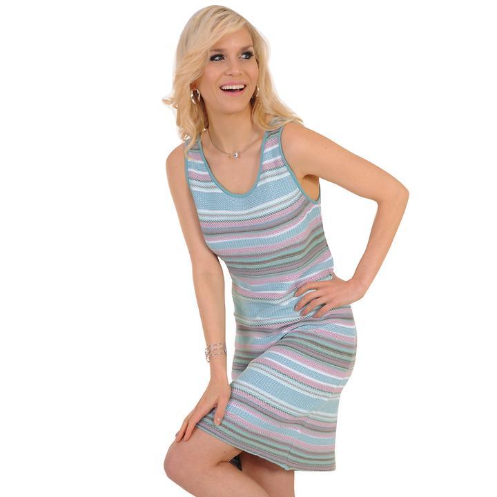 Kleid Nele blau Gr. 46