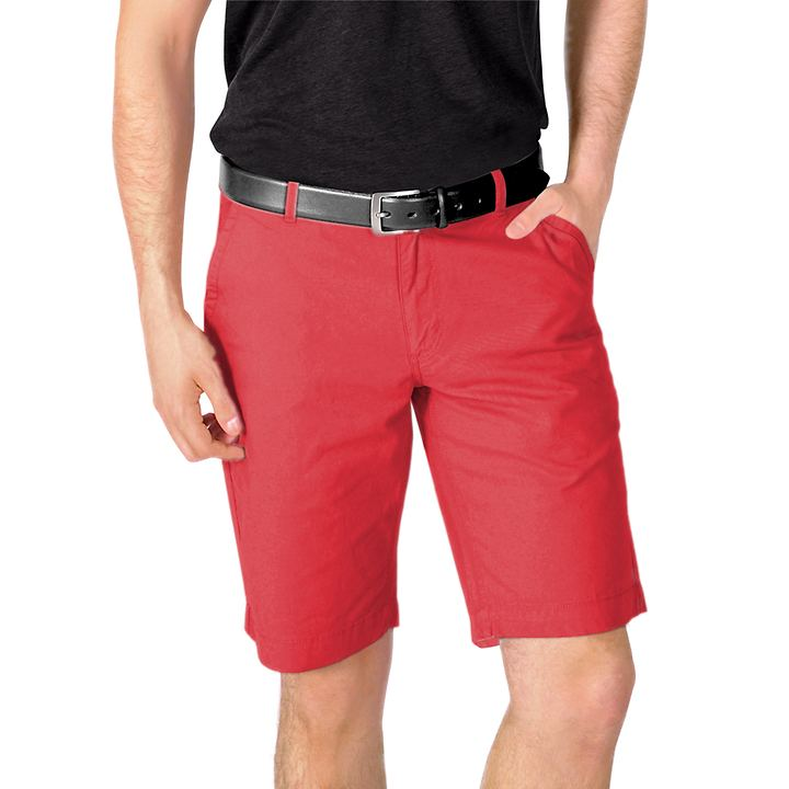 Bermuda-Shorts Ben rot Gr. S