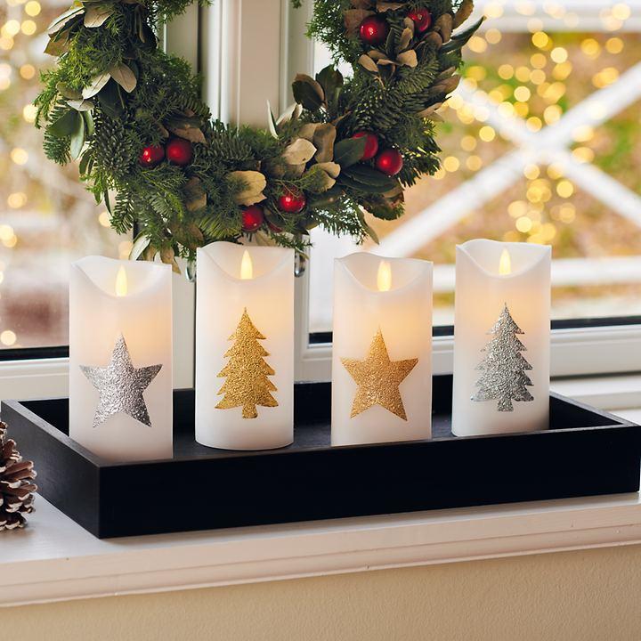 LED-Kerzen Star & Tree