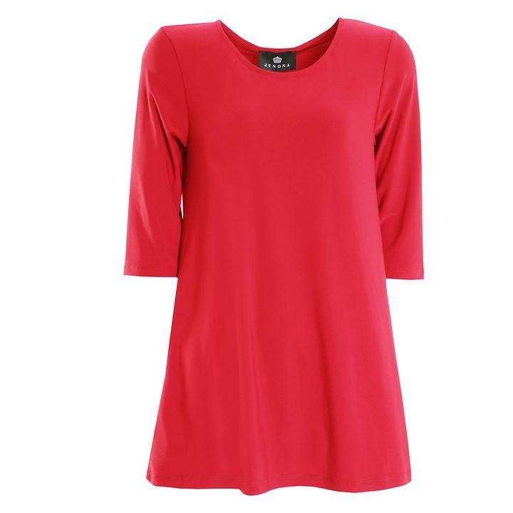 3/4-Arm-Shirt Thea flamingo, Gr. 40