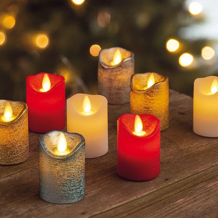 LED-Kerzen 4er-Set