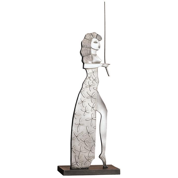 Metallguss-Skulptur Circe
