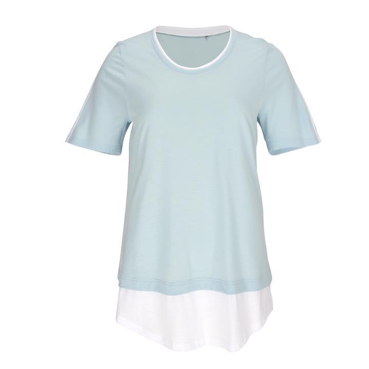 Superbequemes Lagen-Shirt in Single-Jersey-Qualität