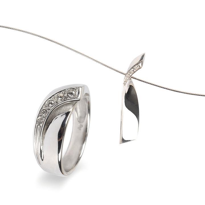 Anhängerkette & Ring Infinite