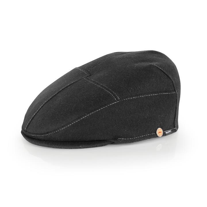 Flatcap Sigma schwarz Gr.60