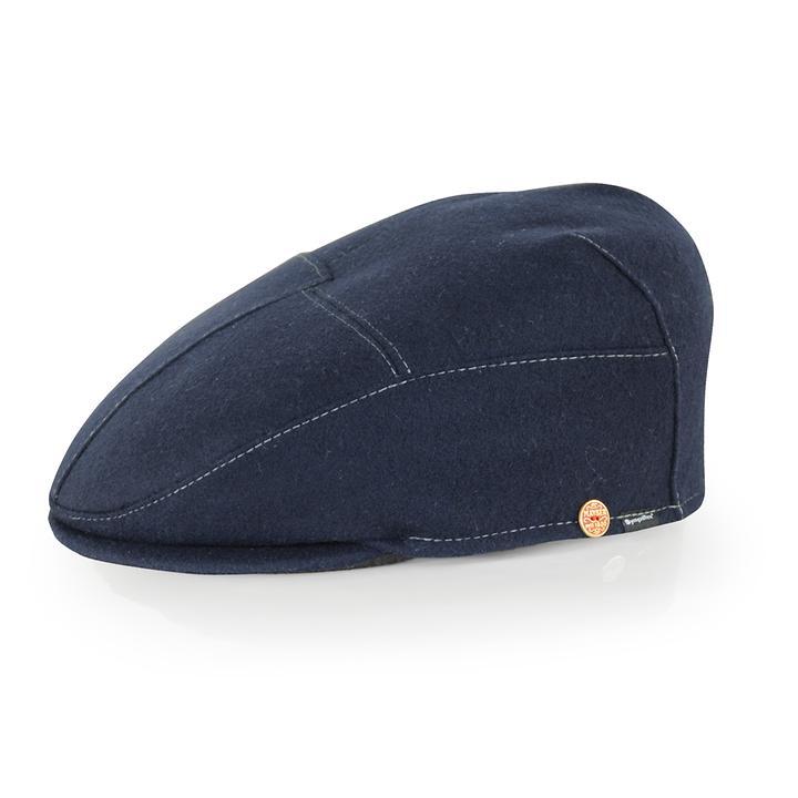Flatcap Sigma Gr. 58 dunkelblau