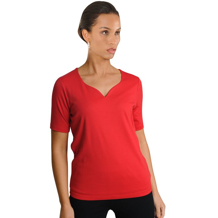 Shirt Holly rot Gr. 36