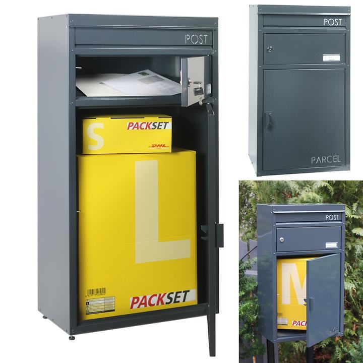 Paketbriefkästen Parcelbox PB 45 & ScanPro SP 65