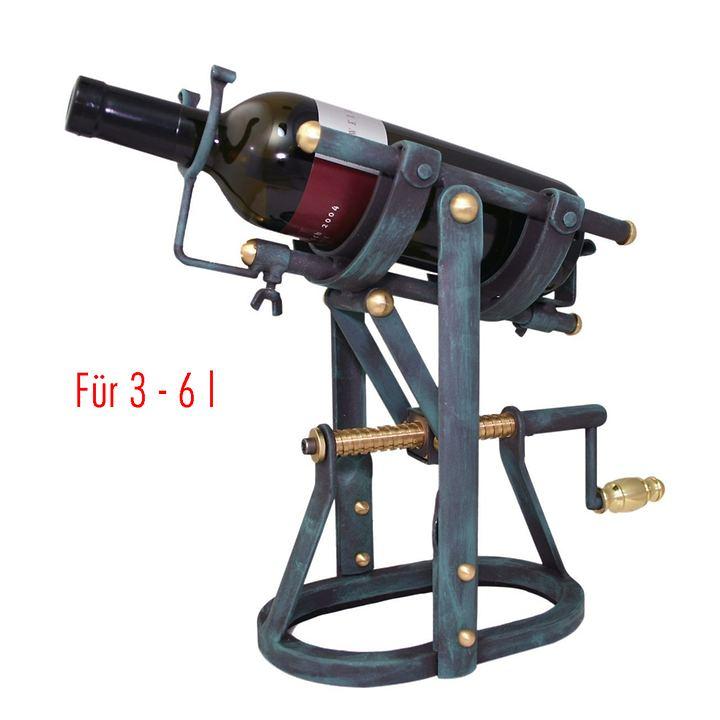 Dekantiermaschine BUTTLER für 3 - 6l Flaschen