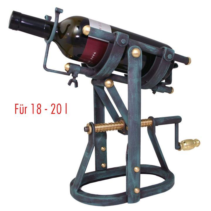 Dekantiermaschine BUTTLER für 18 - 20l Flaschen