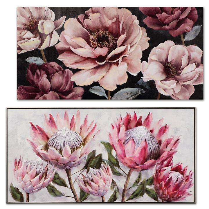 Bild Pink blossom und Pretty Protea