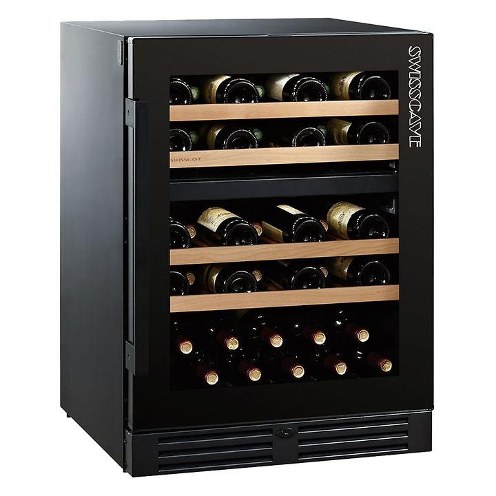 Zweizonen-Weinkühlschrank WLB 160 DF- BLACK EDITION