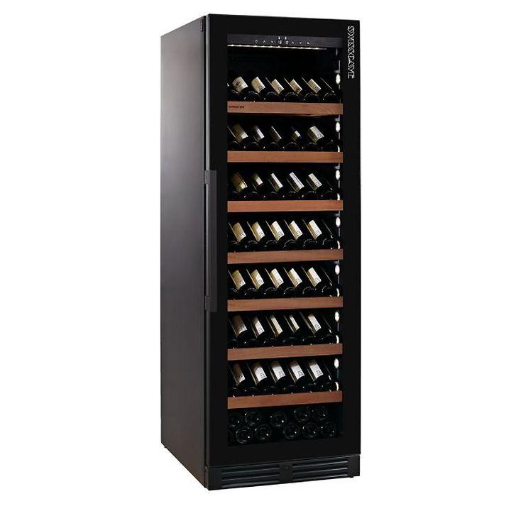 Einzonen-Weinklimaschrank WLB-460 FLD Black Edition mit Gastro Ausstattung