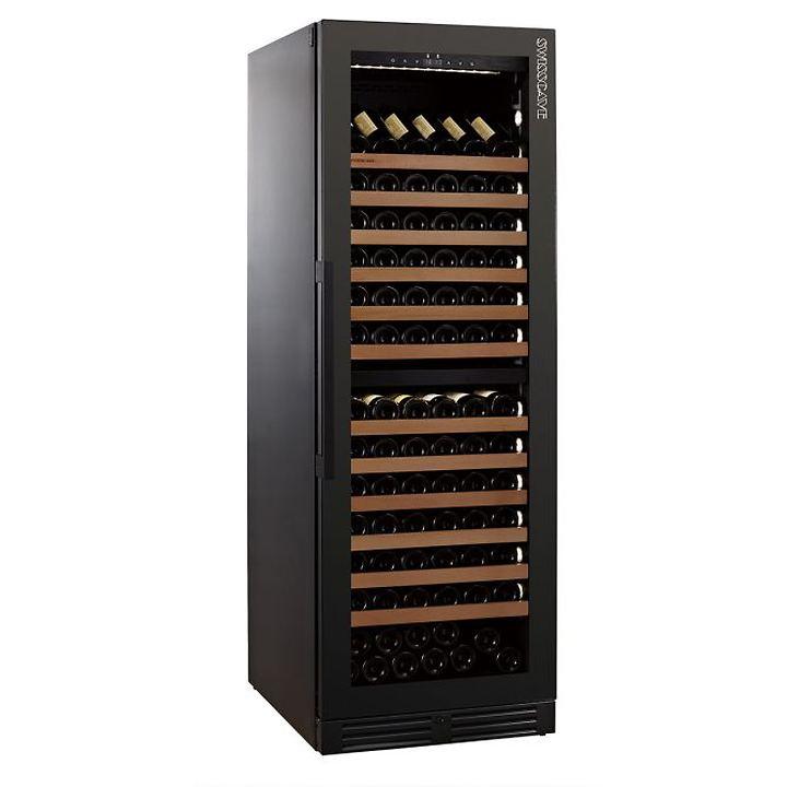 Zweizonen-Weinkühlschrank WLB 460DFL BLACK EDITION mit Ambienteausstattung
