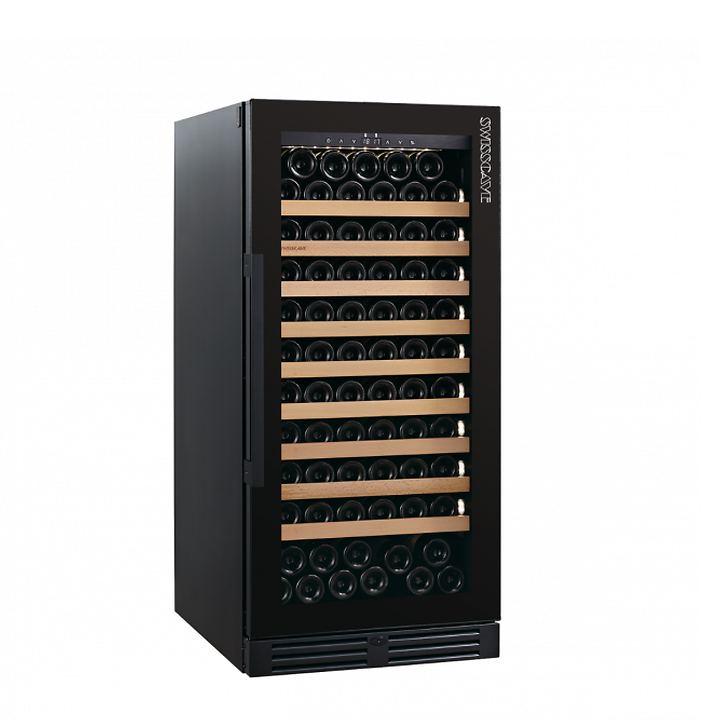 Einzonen-Weinklimaschrank WLB-360 F Black Edition