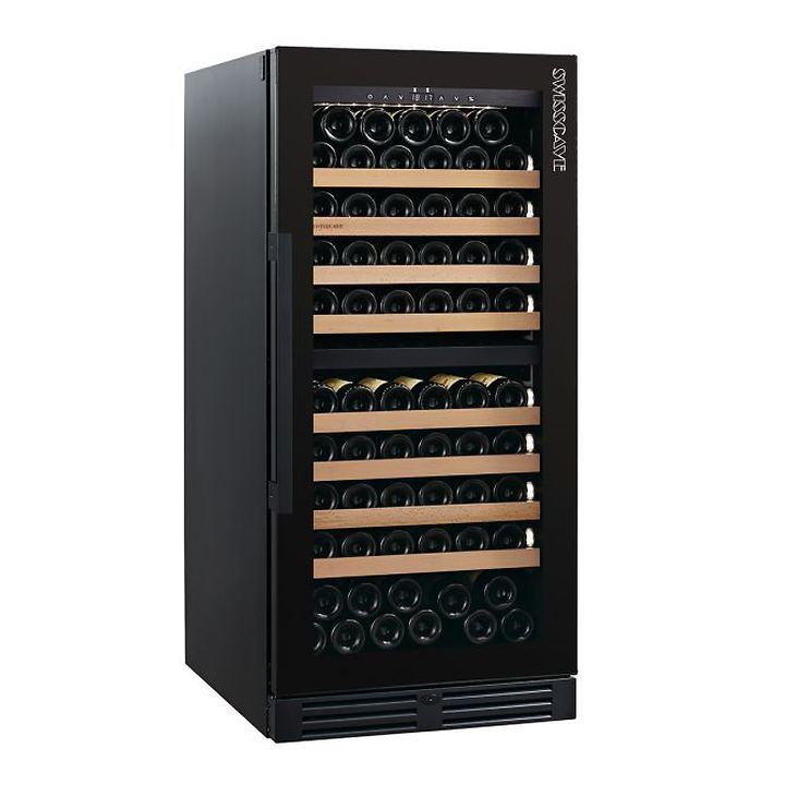 Zweizonen-Weinklimaschrank WLB-360DF Black Edition