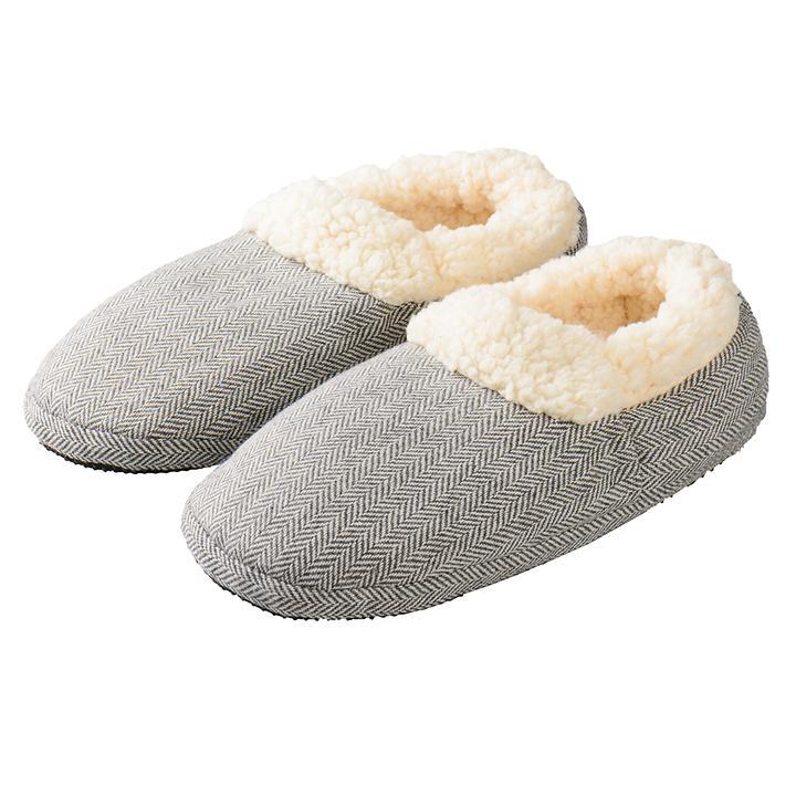 Slippies Comfort grau Gr. 37-41