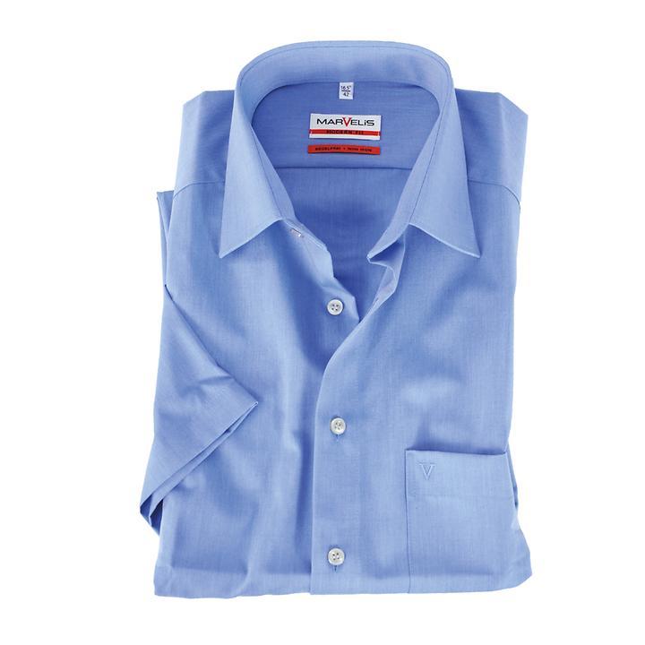 Hemd Marvelis blau Gr. 40 Marvelis
