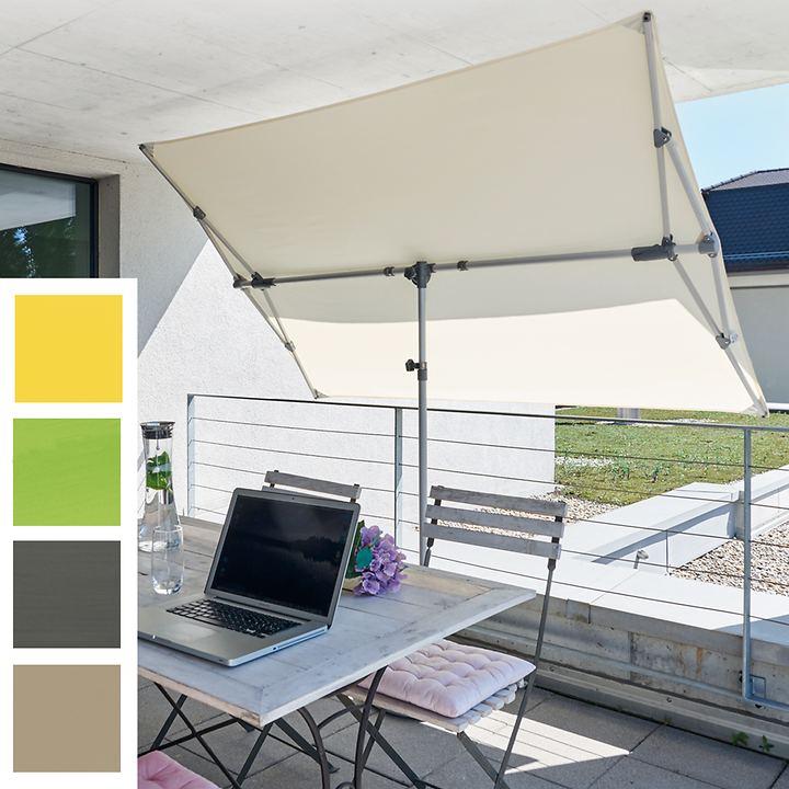 Flex Roof Sonnenschutz, H 215 x B 210 x T 150 cm